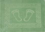 Коврик для ванной 50х70 см FOOT (светло-зелёный)