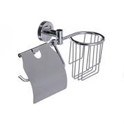 Держатель для освежителя и туалетной бумаги с крышкой D-LIN (D242100)