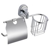 Держатель освежителя воздуха и туалетной бумаги с крышкой D-LIN (D242700)