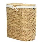 Плетеная корзина для белья с крышкой WasserKRAFT (Dill WB-610-L)