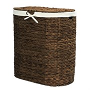 Плетеная корзина для белья с крышкой WasserKRAFT (Dill WB-611-L)