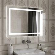 Зеркало 80х60 см  сенсорное с внутренней LED подсветкой