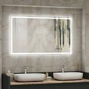 Зеркало 100х70 см сенсорное с внутренней LED подсветкой