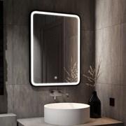 Зеркало 60х80 см сенсорное с внутренней LED подсветкой