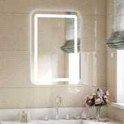 Зеркало 60х80 см LUCIA сенсорное с внутренней LED подсветкой