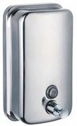Дозатор (диспенсер) для жидкого мыла металл (матовый) 0,5л
