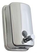 Дозатор (диспенсер) для жидкого мыла металл 0,8 литра